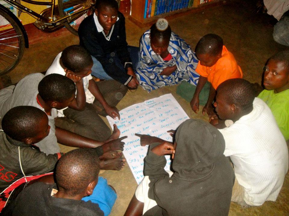 The children participate in life skills classes.