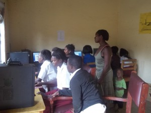 Computer Class at the Vocational School
