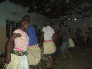 Violeta welcome dance
